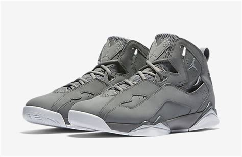True Grey true flight quot cool grey quot air jordans release