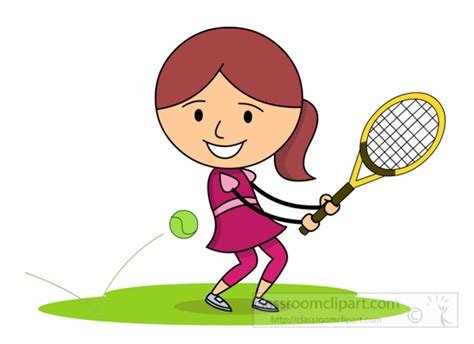 tennis clipart tennis clipart clipart hitting tennis with back