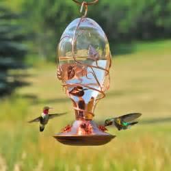Feeder Bird Avant Garden Looking Glass Hummingbird Feeder