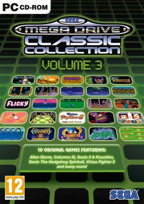 classic collection volume 3 0007420544 sega mega drive classic collection volume 3 pc zavvi com