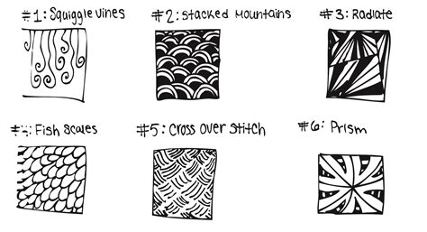 zentangle pattern blog zentangle patterns emily cromwell blog