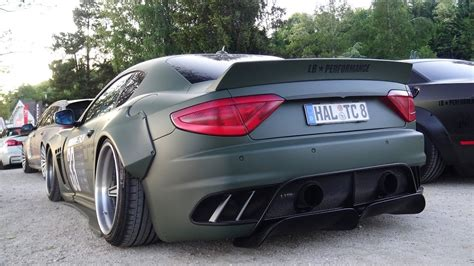maserati green liberty walk maserati granturismo youtube
