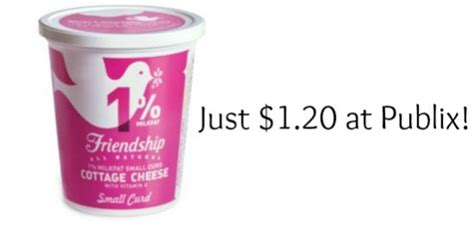 friendship cottage cheese save over half price