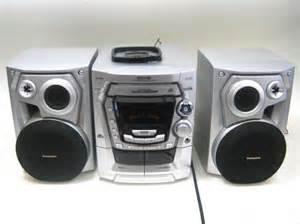 panasonic sa ak300 5 cd disc changer shelf stereo system