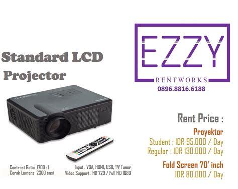 Lcd Proyektor Yang Murah rental sewa proyektor bogor infocus lcd nyewain