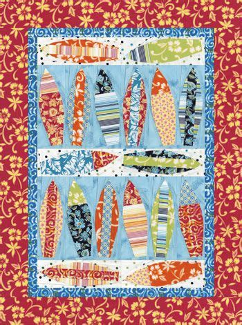 surf s up quilt pattern quilting