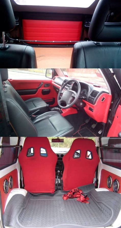 Suzuki Jimny Interior Jimmy джимняк Pinterest Suzuki