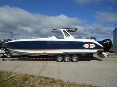 cigarette one boats for sale cigarette 42 huntress with mercury 400 verado s for sale