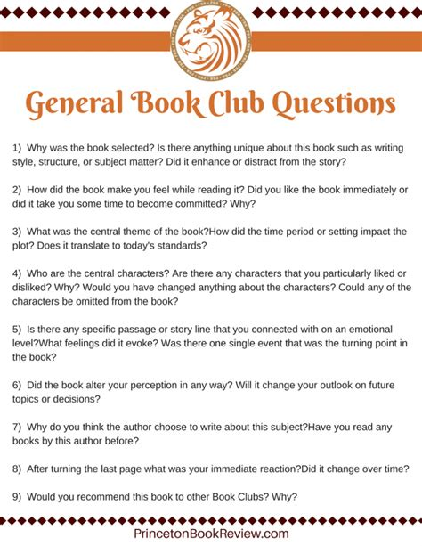 questions to ask for a book report 9 general book club questions that will make the most of