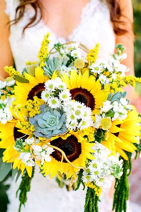 Sunflower Arrangements For Weddings by 306 Best Sunflower Weddings Images On Floral