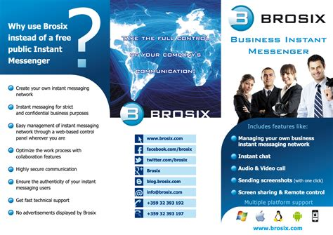 Brosix Announces Multi Protocol Im Tabbed Chat And Spell