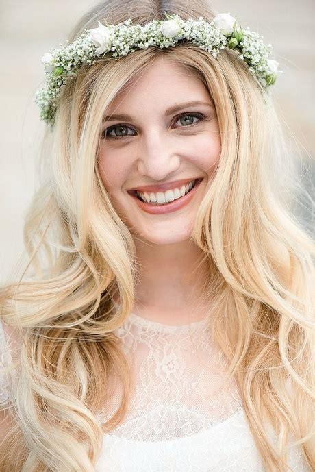 Hochzeitsfrisuren Offene Haare by Brautfrisuren Mit Schleier Offene Haare