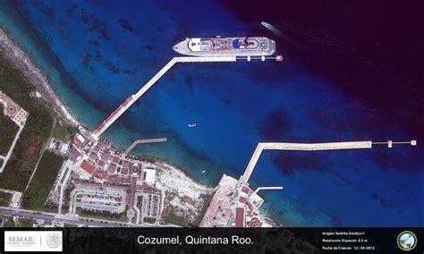 imagenes satelitales conabio imagen satelital de cozumel quintana roo