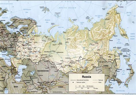 russia map and surrounding countries countries in nanopics russia