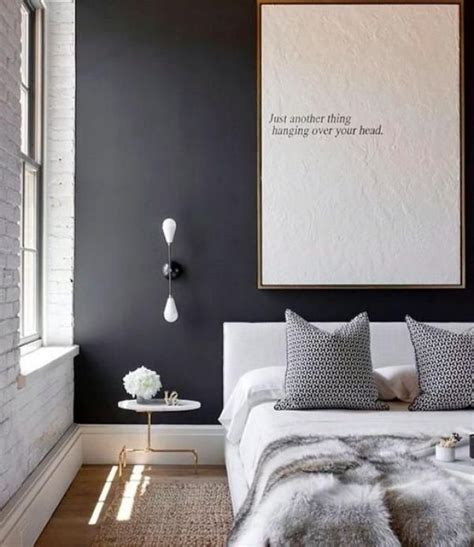 dark feature wall bedroom colour trend 1 dark feature wall bedroom see http