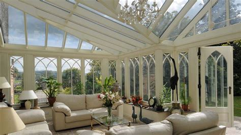 Gothic Style Home by Bespoke Wooden Conservatories David Salisbury