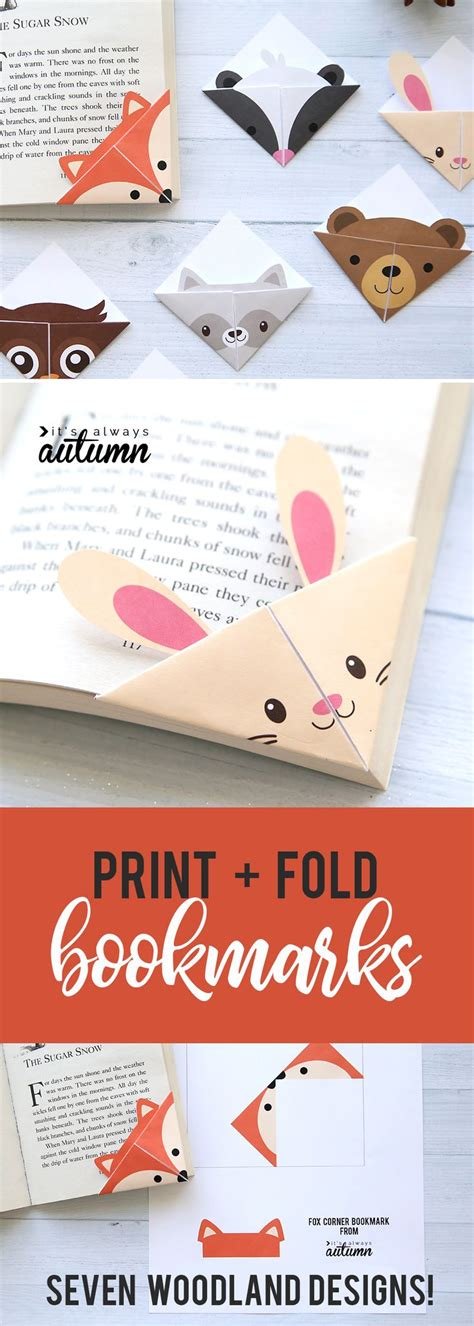 libro woodland craft best 25 bookmarks ideas on book marks diy bookmarks and paper crafts for kids