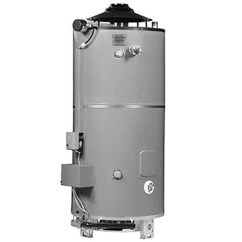 american standard water heater american standard uln 100 250 as 100 gallon gas commercial water heater faucetdepot