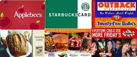 Half Price Restaurant Gift Cards - gift card deals freebies