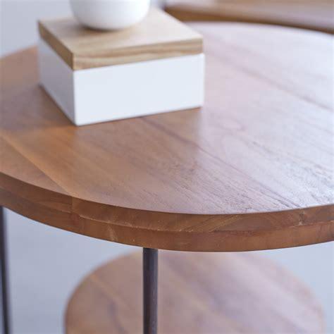 Tea Table Key by Key Wood Coffee Table Table Sale At Tikamoon