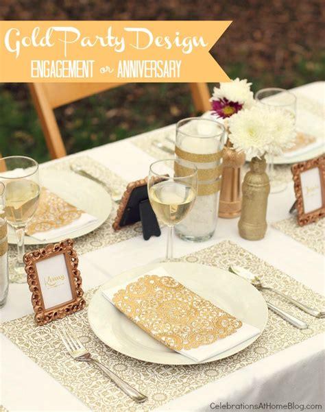 gold birthday themes gold party decor ideas for milestone celebrations