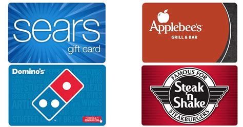 Applebee S Gift Card Discount - 100 sears gift card only 85 discounted domino s applebee s cvs gift cards