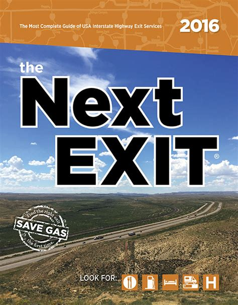 the next exit 2018 books the next exit