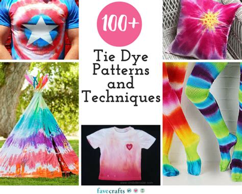 100 tie dye patterns and techniques favecrafts