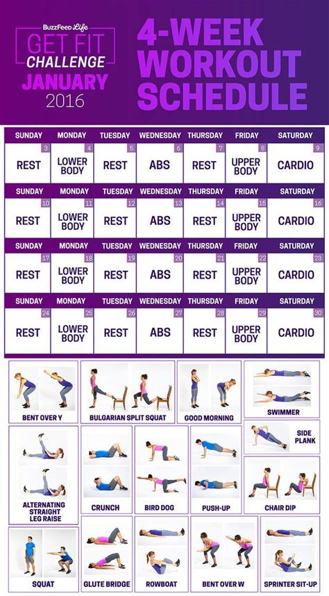 best 10 home workout schedule ideas on 10