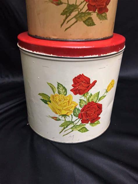 vintage kitchen canister 1952 vintage kitchen canister set gsw