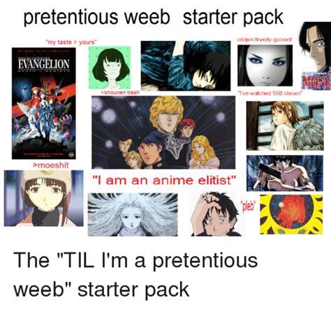 25 best memes about starter packs and anime starter