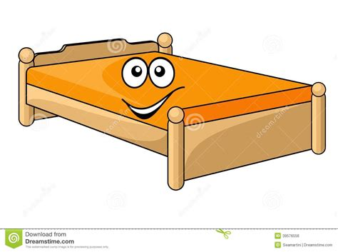 cartoon beds comfortable cartoon bed stock vector illustration of icon
