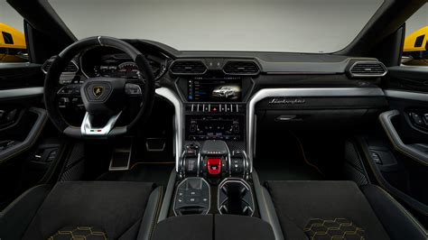 lamborghini jeep interior 2018 lamborghini urus interior 4k wallpaper hd car