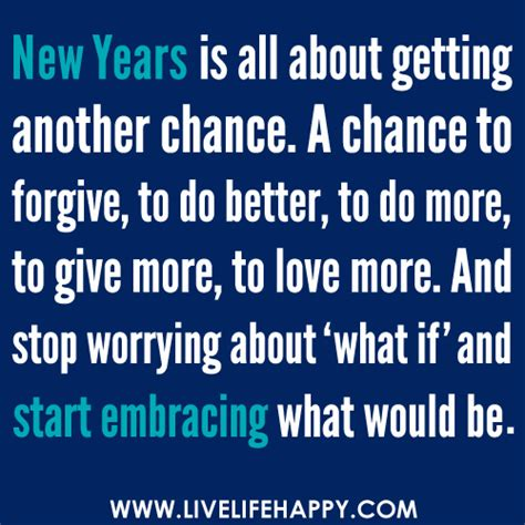 where to go on new year new years is all about getting another chance a chance