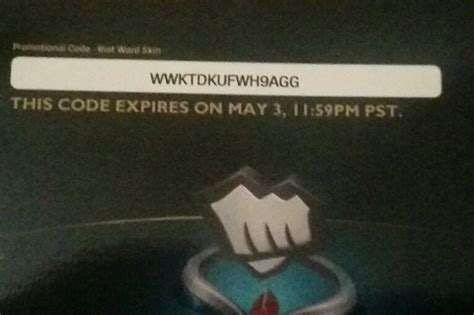 Riot Codes Giveaway - c2e2 league of legends arctic ops varus and riot ward skin codes max level