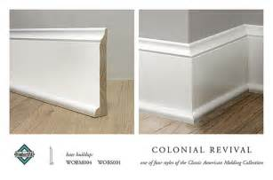 Colonial Molding Colonial Revival Base Molding Base Buildup For The