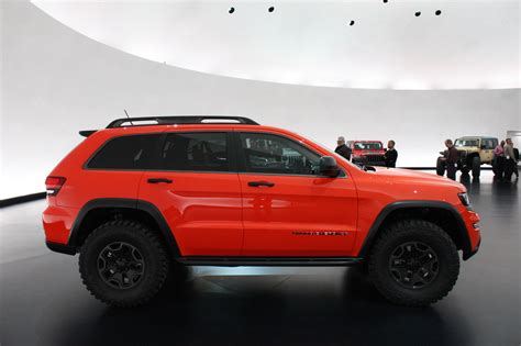 Jeep Trailhawk Lifted Jeep Grand Trailhawk Ii Concept Trucks