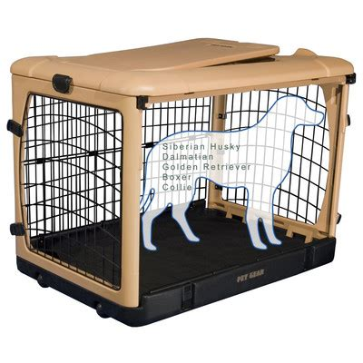 large crate size large deluxe pet crate