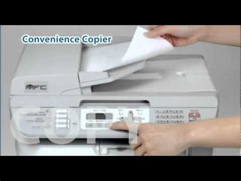 resetting brother mfc 7340 brother dcp l2540dw laser printer overview doovi