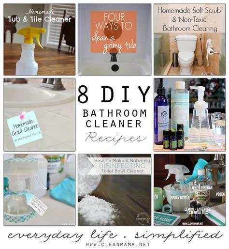bathtub cleaner recipe bathrooms archives clean mama
