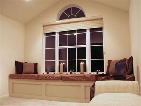 window seats in bedrooms master bedroom window seat hgtv