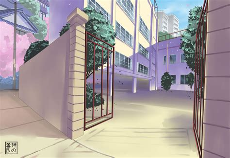 wallpaper anime school manga school background www pixshark com images