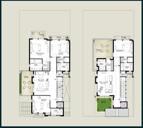 villa house plans floor plans homes floor plans