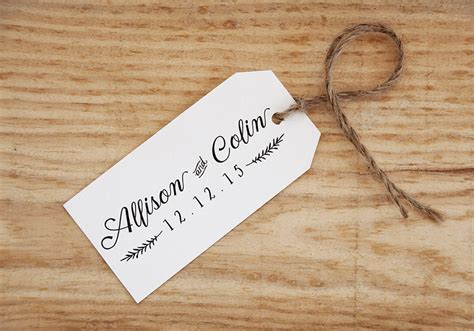personalized wedding rubber st wedding favor st save the date st wedding st