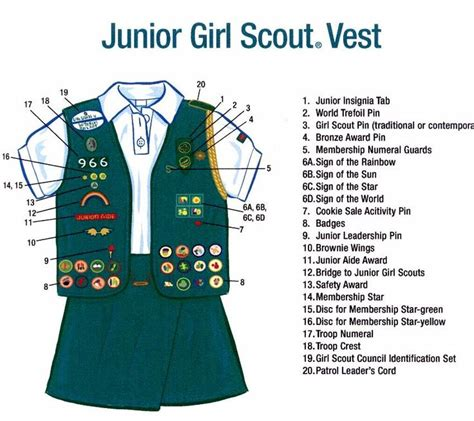 junior sash and vest junior girl scouts vest junior girl scouts pinterest