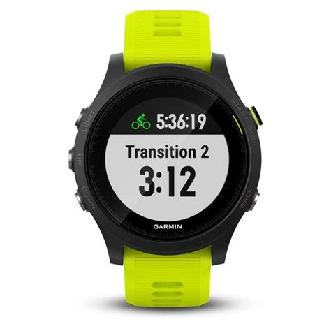 Garmin Forerunner 935 Yellow garmin forerunner 935 black tri bundle yellow