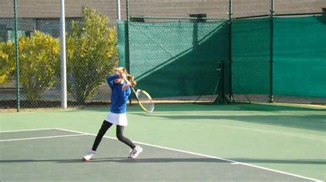 imagenes niños jugando tenis ni 209 a de 7 a 209 os jugando al tenis youtube