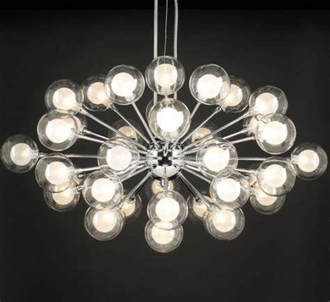 Coupe Collection 37 Light Large Contemporary Chandelier Large Contemporary Chandeliers