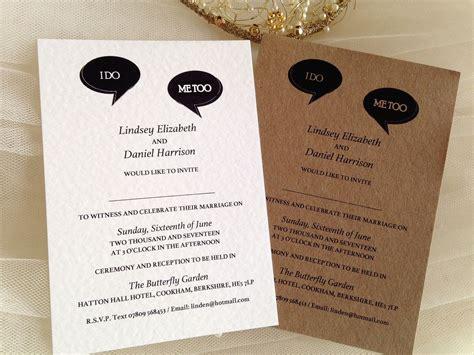 Wedding Announcement Speech by I Do Me Wedding Invitations Attractive Speech