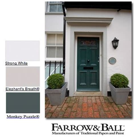 farrow and strong white exterior shut the front door